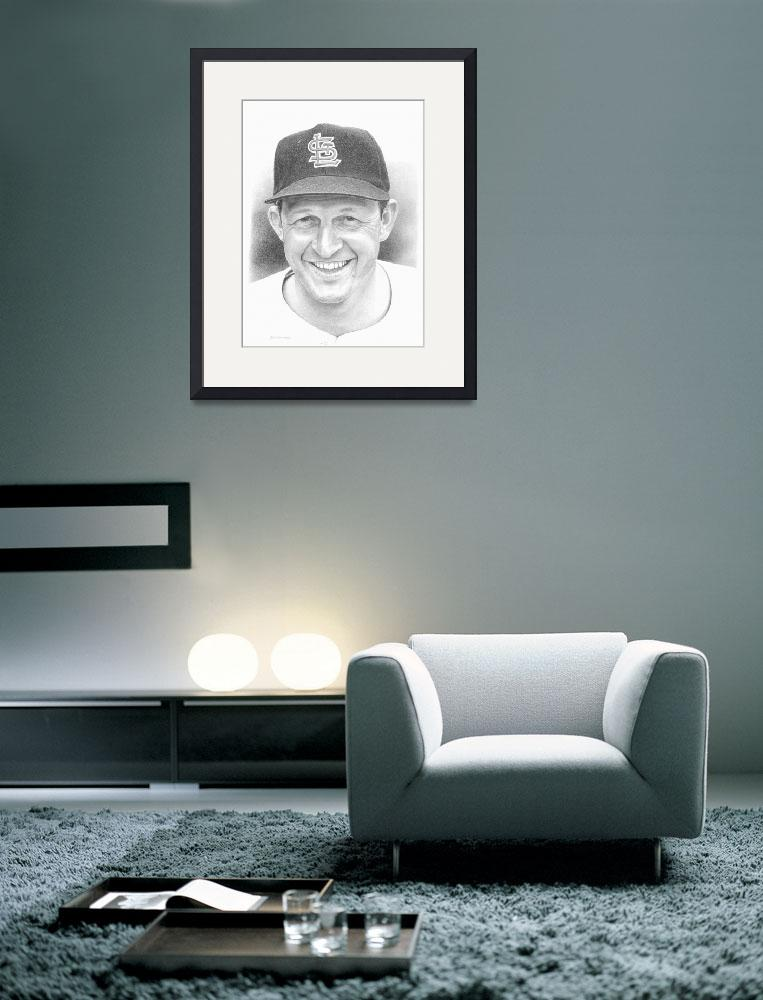"""""""Stan Musial&quot  (2010) by JHancock"""