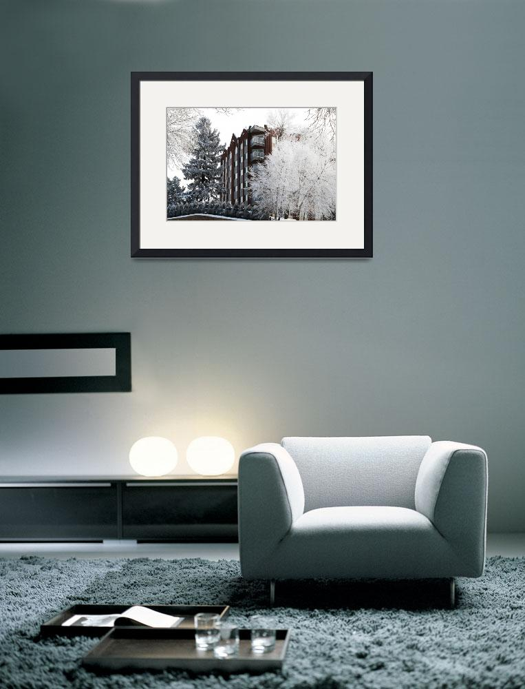 """""""Condos In White&quot  (2011) by DGPhotographicArt"""