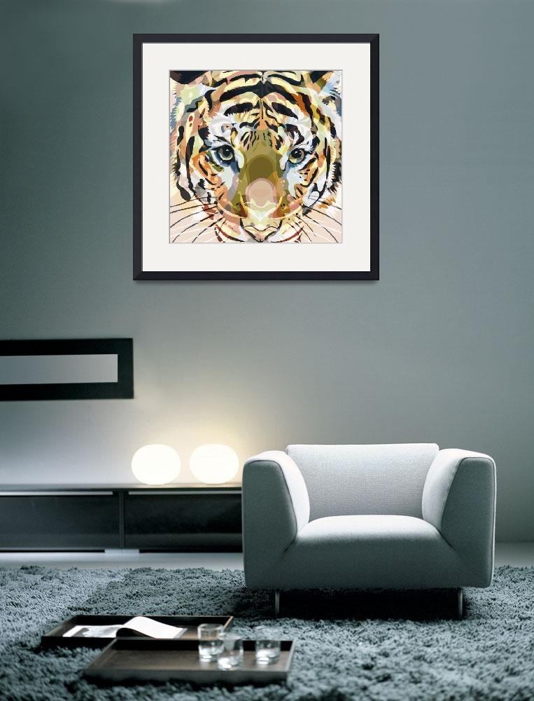 """""""Tiger Mix #1&quot  (2014) by Ornaart"""