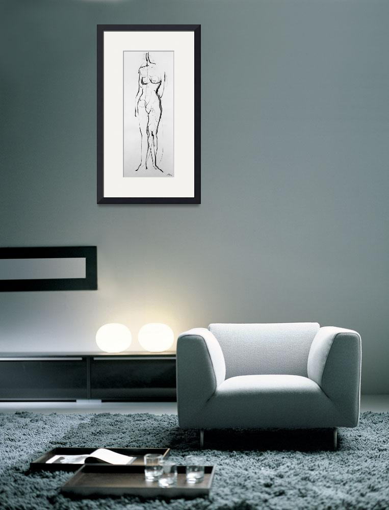 """""""Drawing nude model&quot  (2007) by lefterisbetsis"""