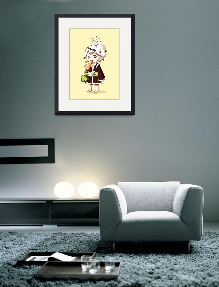 """""""Bunny Mask&quot  (2012) by freeminds"""