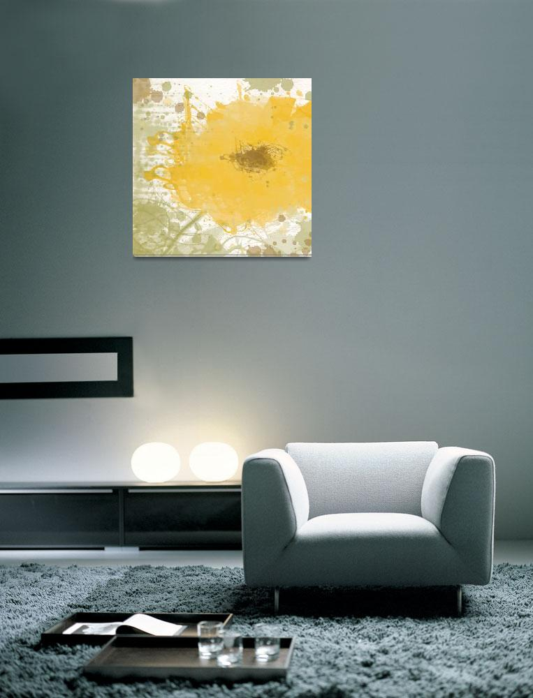 """Modern yellow""  by Aneri"