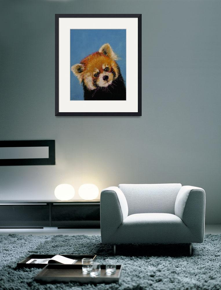 """""""Red Panda""""  by creese"""