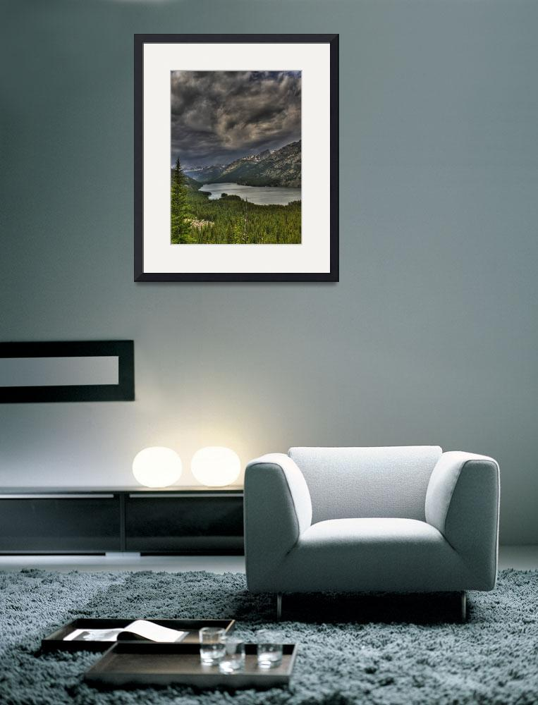 """""""Mystic Lake&quot  (2008) by stevenberry"""