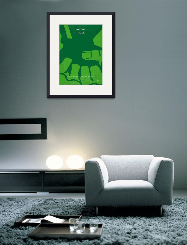 """No040 My HULK minimal movie poster&quot  by Chungkong"