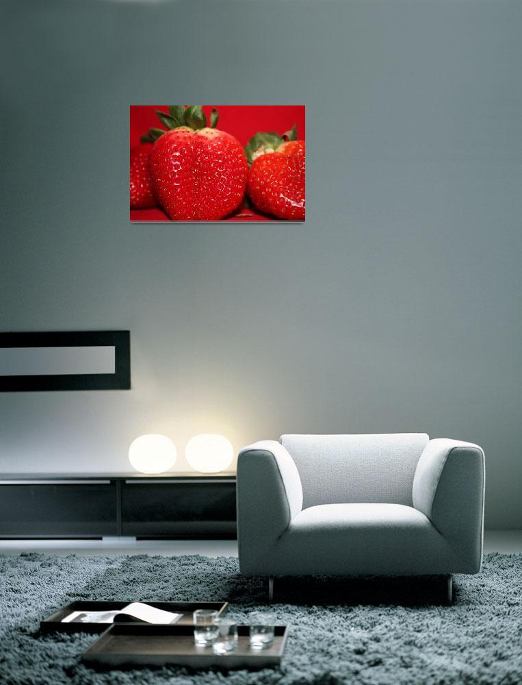 """""""Strawberry time""""  (2010) by Albertphoto"""
