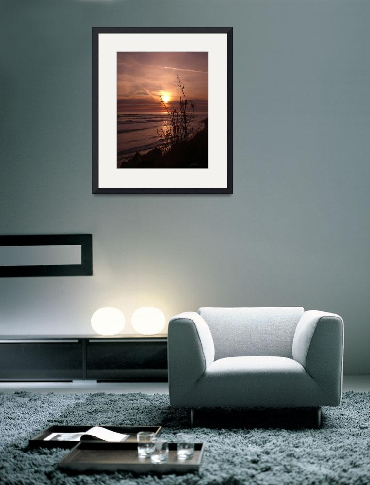 """""""California Sunset 9&quot  (2010) by sunnycastlecreations"""