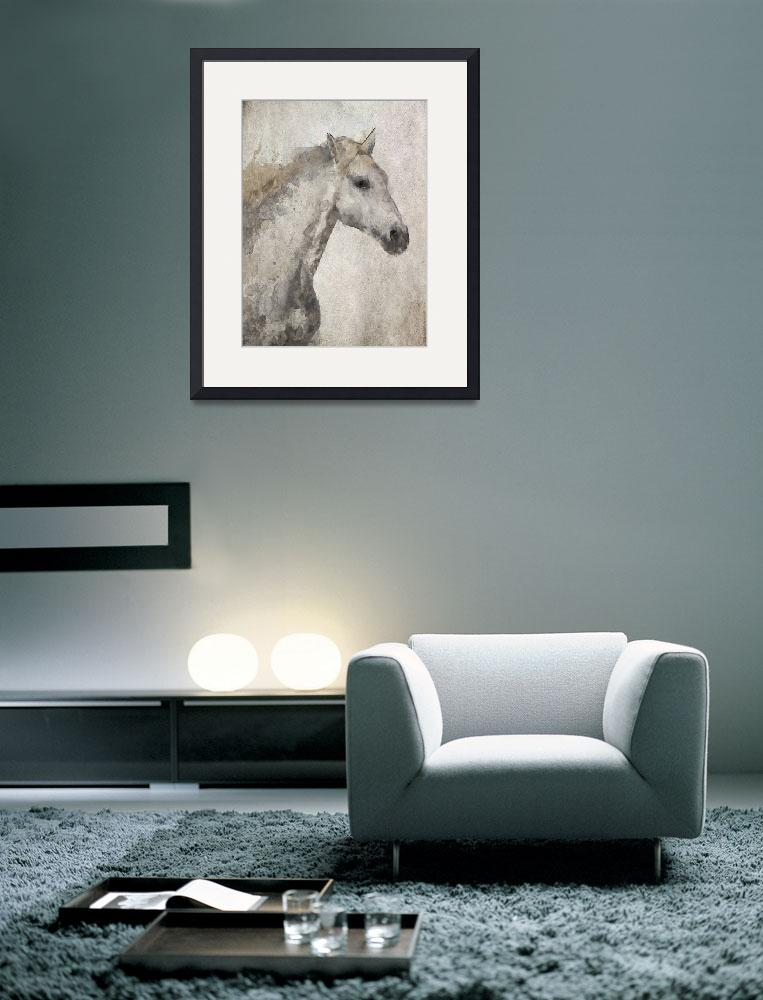 """Silver Horse""  by Aneri"