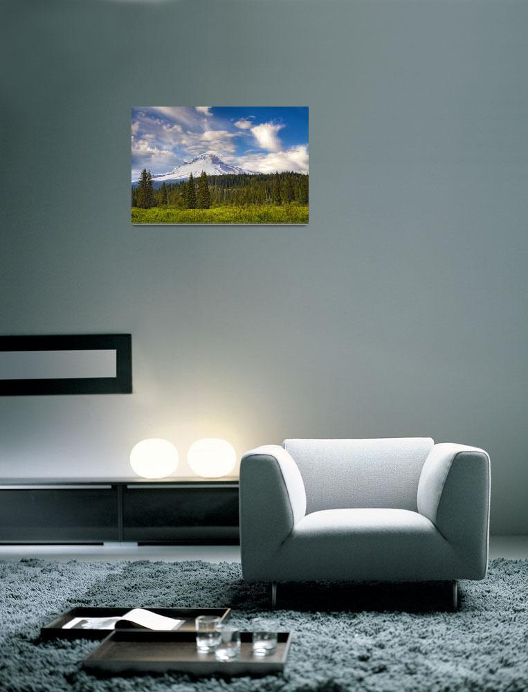 """""""Mt. Hood Oregon""""  (2010) by EdDevereaux"""
