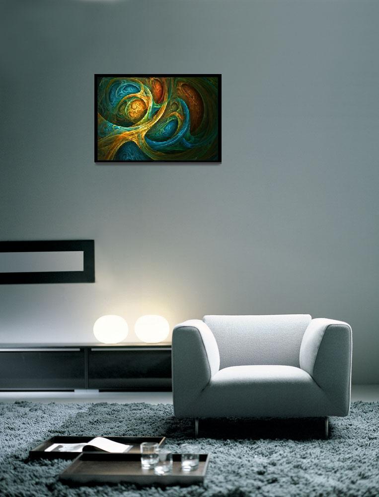"""Spirit Realm - Fractal Art""  (2009) by LeahMcNeir"