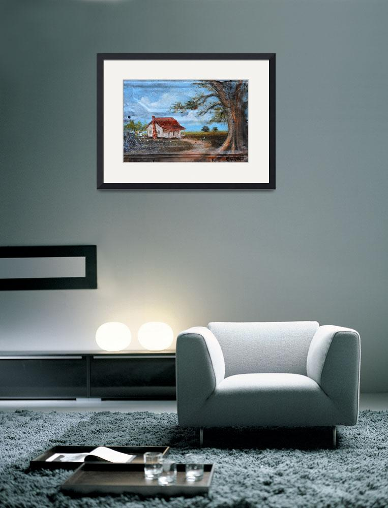 """""""Home Sweet Home, Kip Hayes Art, Southern Art&quot  (2012) by kiphayes"""