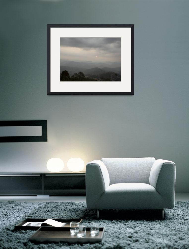 """""""Nepal Sunrise&quot  (2009) by amybrown"""