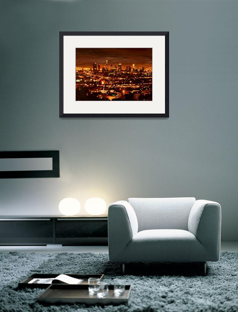"""""""City of Angels - City of Light - Los Angeles&quot  (2012) by arthop77"""