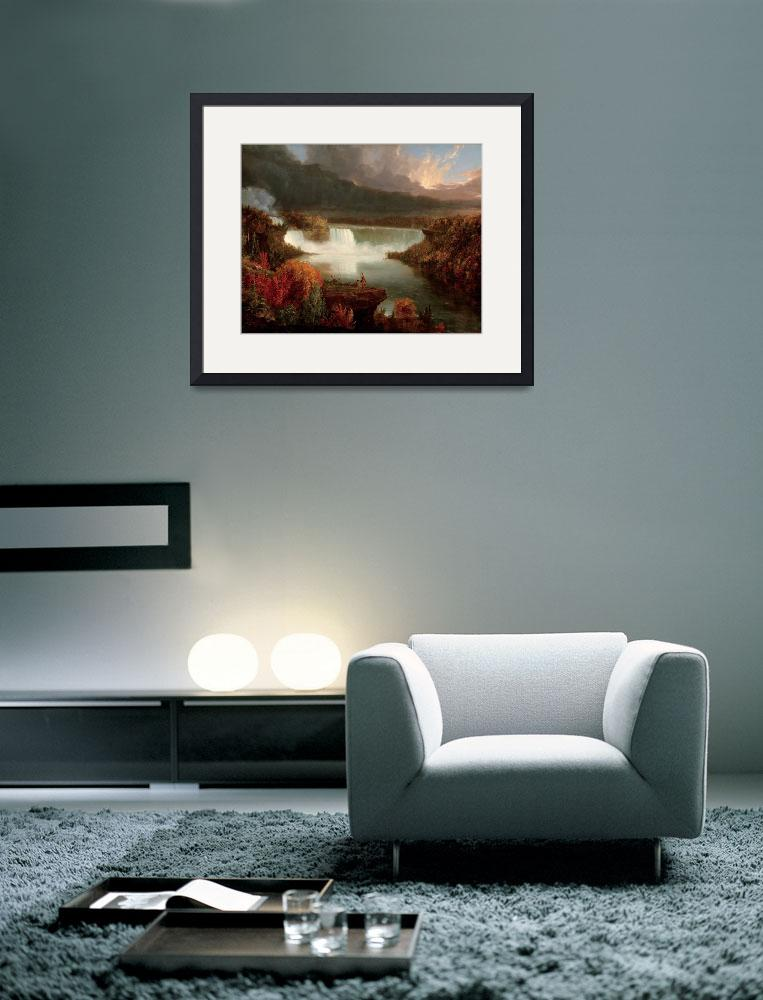 """""""Distant View of Niagara Falls , Thomas Cole, 1830&quot  by artisticrifki"""