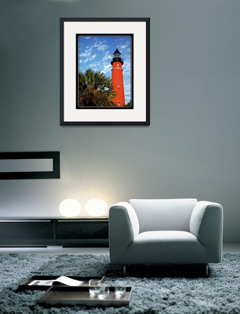 """""""Lighthouse and Palms""""  (2011) by ChrisCrowley"""