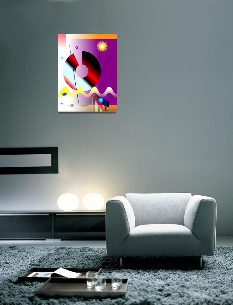 """""""Futuristic Landscape #4""""  (2010) by ceferino"""