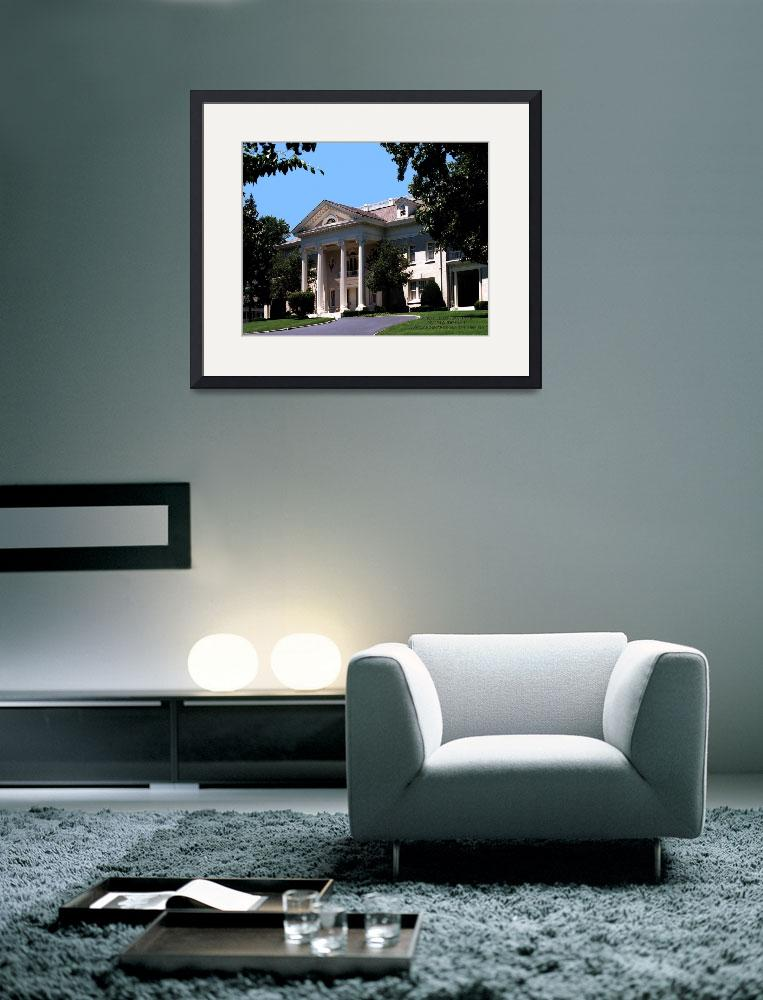 """""""wright_brothers_house_frontal_view_BEST_c2007_land&quot  by landenart"""