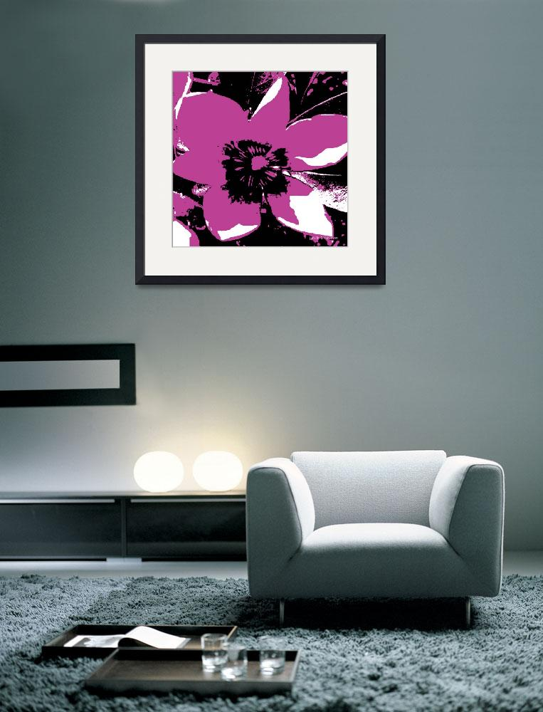 """""""Blooming Magenta&quot  (2009) by HerbDickinson"""