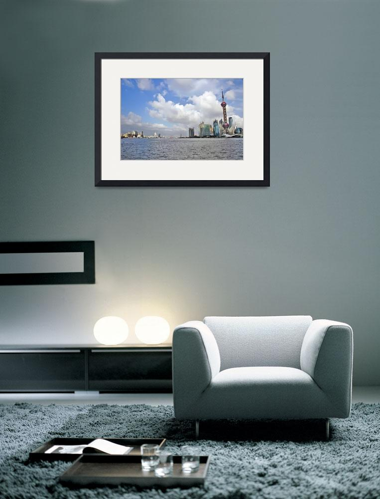 """""""skyline of shanghai&quot  by dasar"""