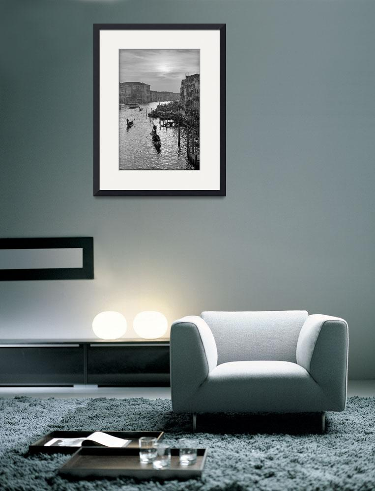 """""""Late afternoon, Grand Canal, Venice&quot  by Aldo"""