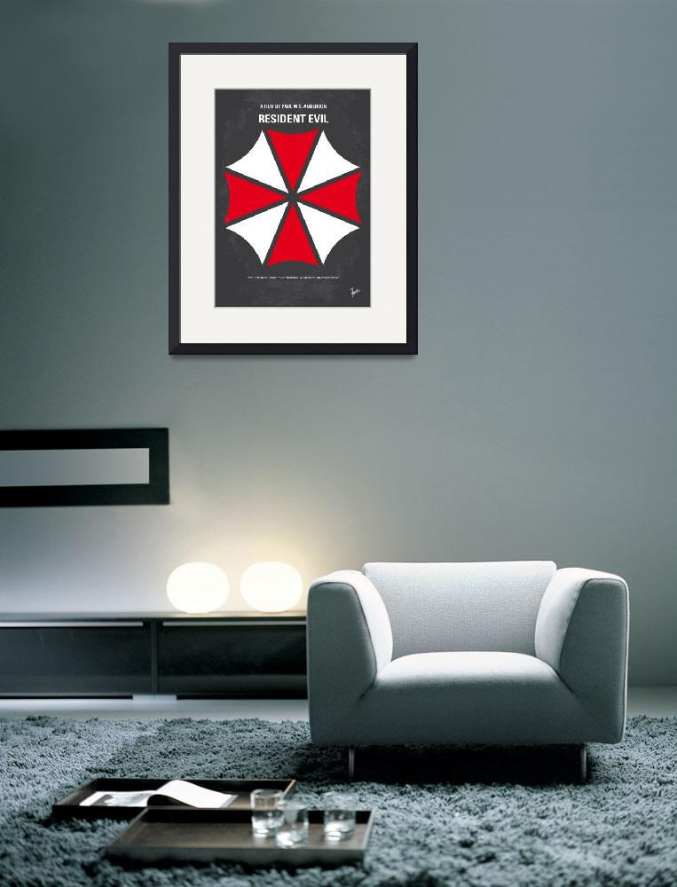 """""""No119 My RESIDENT EVIL minimal movie poster""""  by Chungkong"""