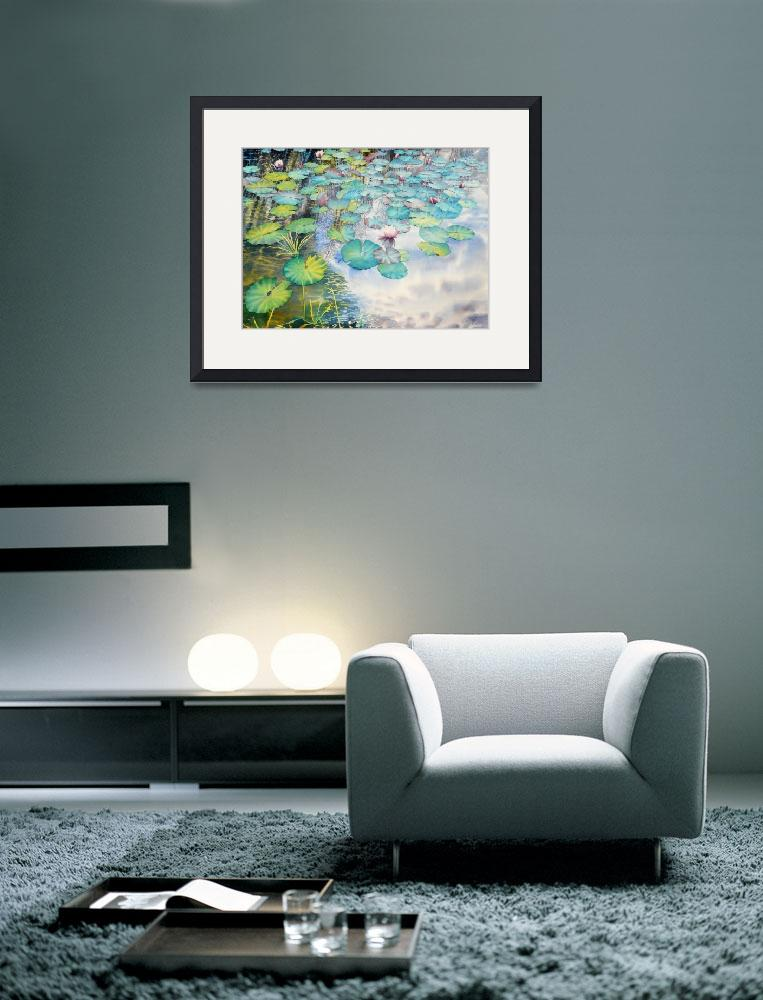 """""""Waterlilies Colllection  II-08&quot  (2008) by mgcruz"""