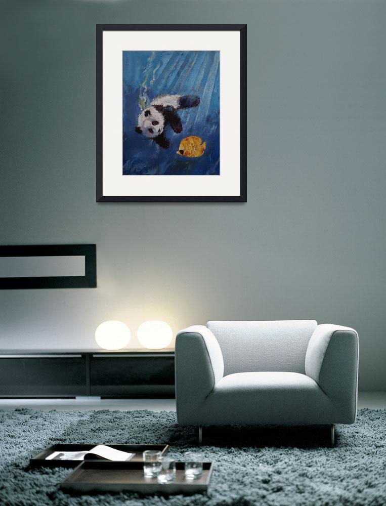 """""""Panda Diver&quot  by creese"""
