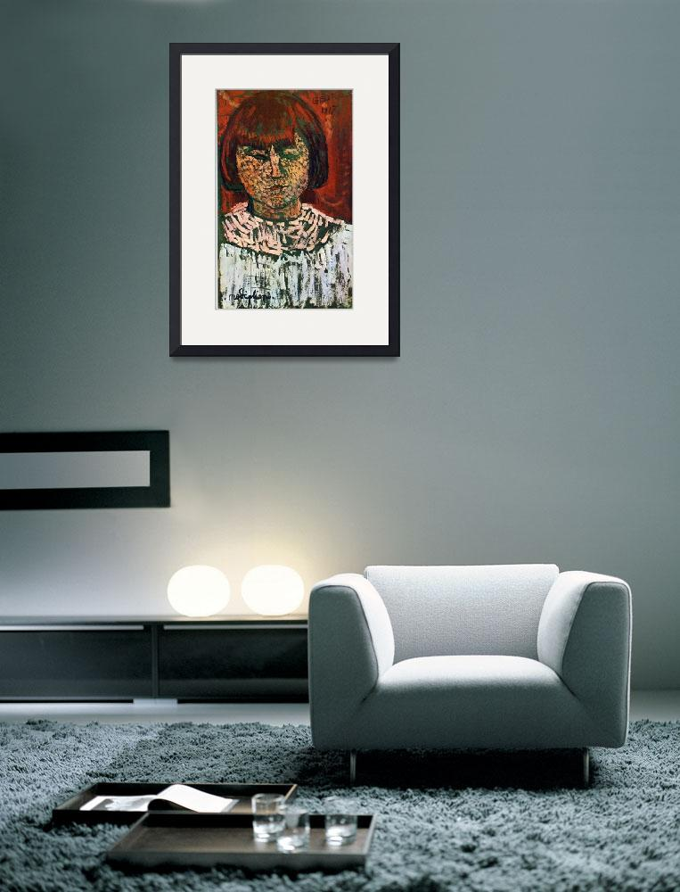 """""""Amedeo Clemente Modigliani Painting 26&quot  by ArtLoversOnline"""
