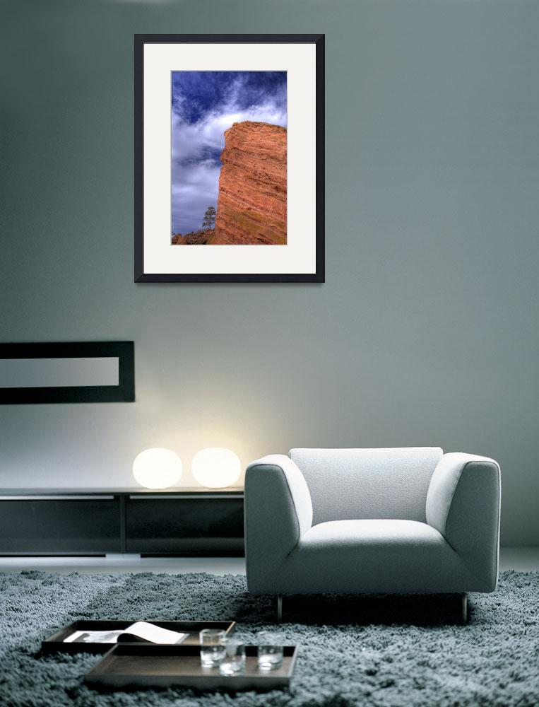 """Red Rocks Portriat&quot  (2006) by scingram"