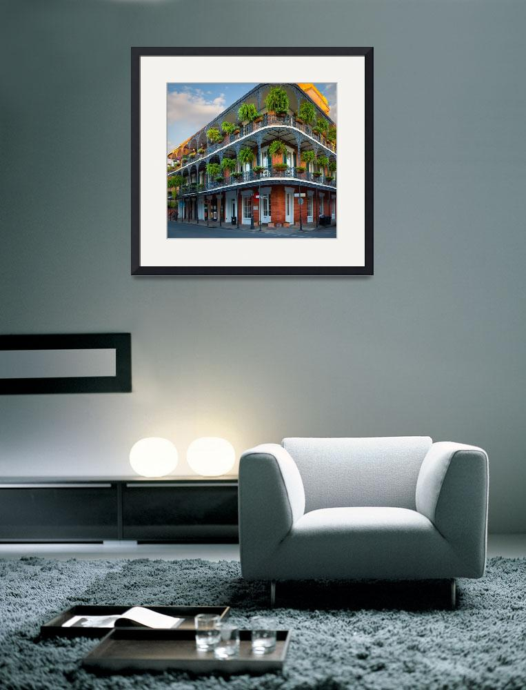 """""""New Orleans House&quot  (2010) by Inge-Johnsson"""