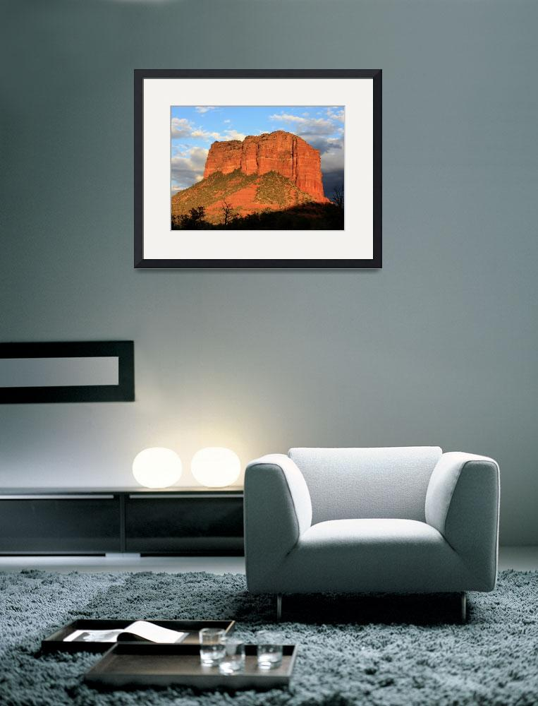 """""""As the Sun Sets in Sedona&quot  by Groecar"""