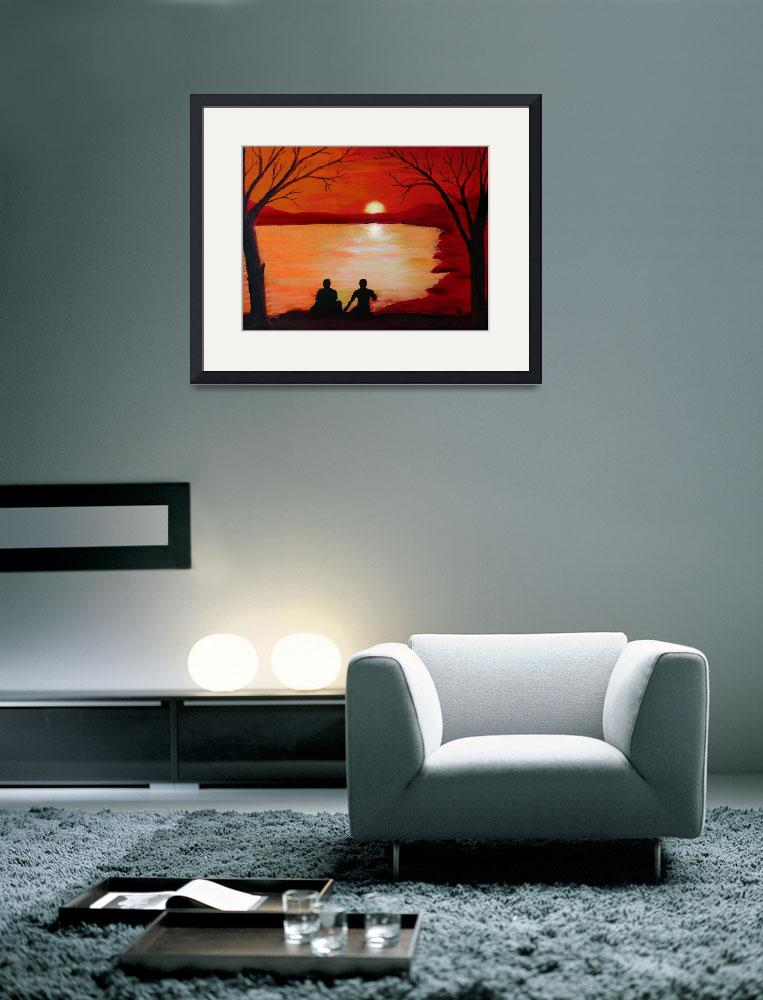 """""""Hallow Sunset&quot  (2011) by sandralynnsparks"""