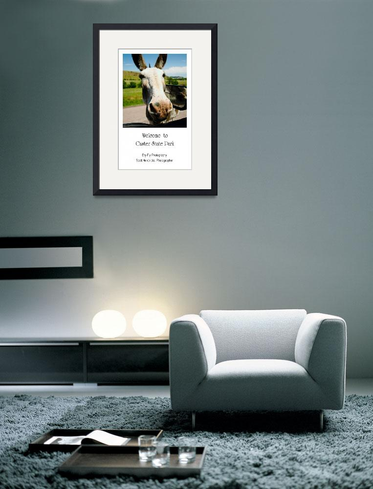 """""""Welcome to Custer State Park - Poster&quot  (2012) by DryFlyPhotograhy"""