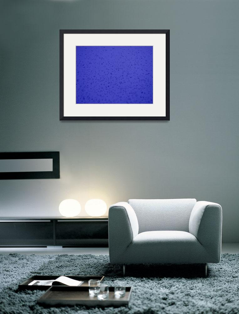 """""""Droplets of Blue&quot  (2010) by jessica-graeber"""