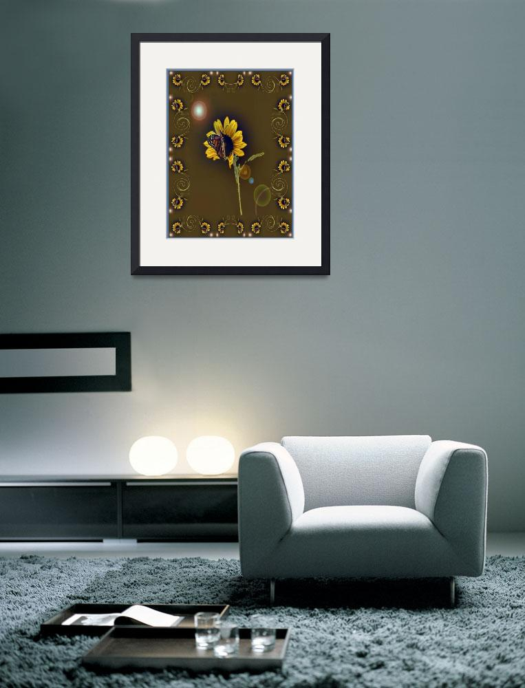 """""""Butterfly Fantasy in Brown&quot  (2011) by marshacarson"""