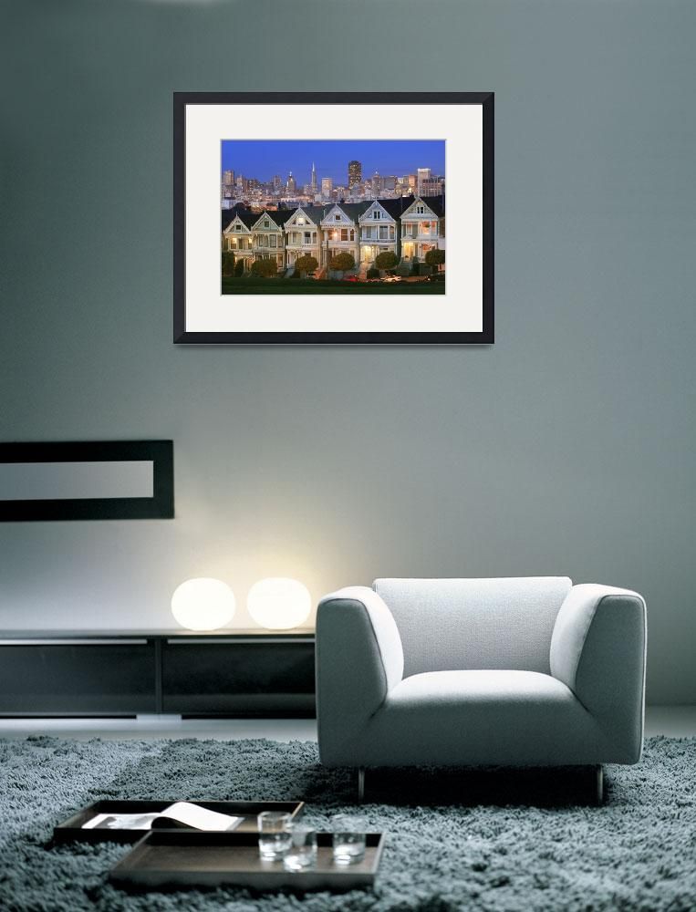 """San Francisco Painted Ladies""  (2007) by Inge-Johnsson"