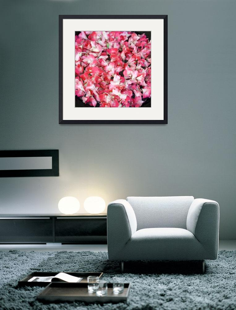"""""""Orchid Bowl Red&quot  (2009) by LeslieTillmann"""