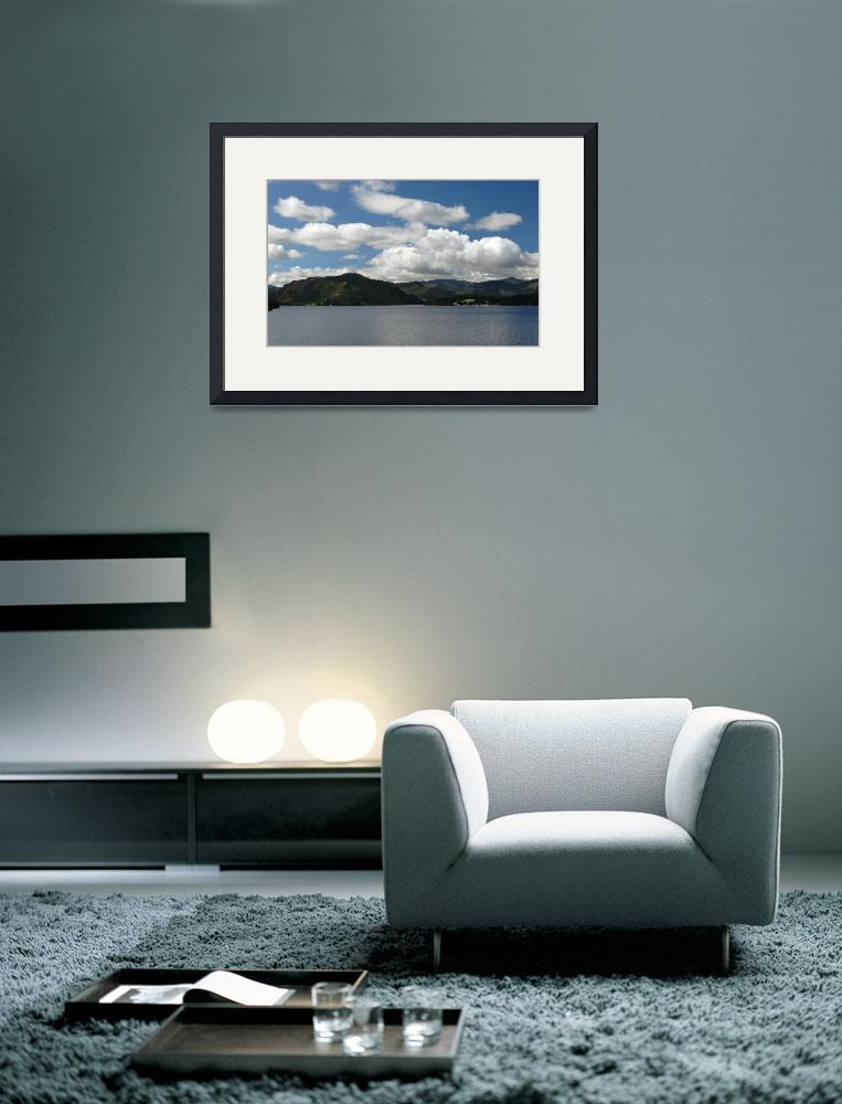 """""""Lake Ullswater&quot  (2008) by stevend"""