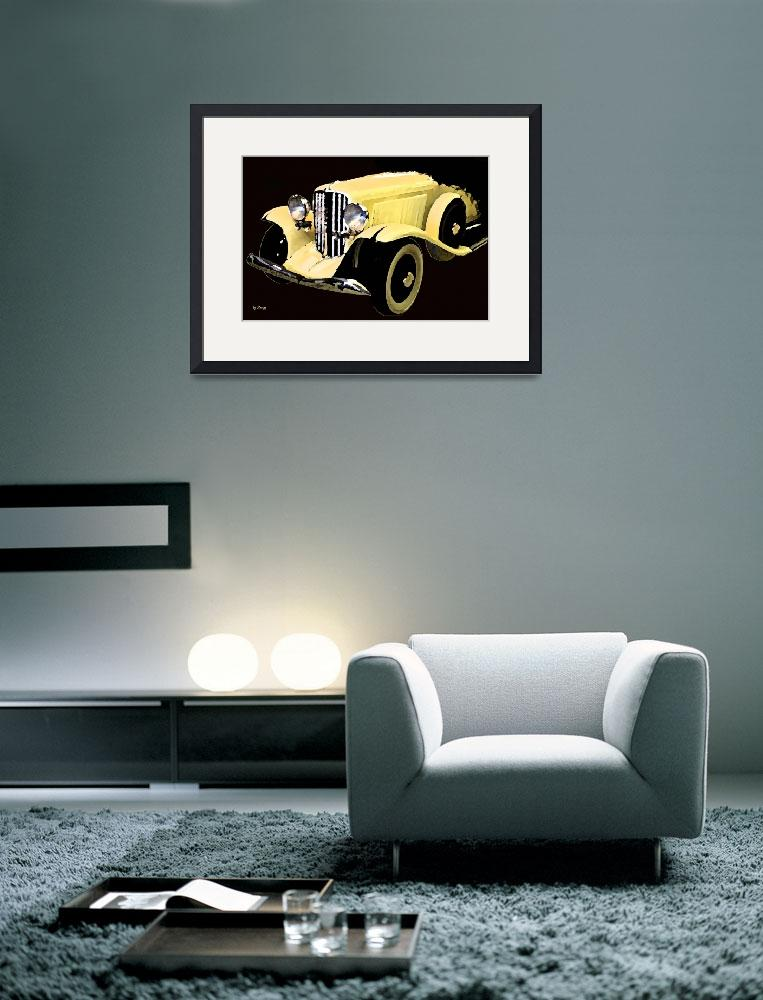 """""""Yellow Car&quot  (2011) by byStangz"""