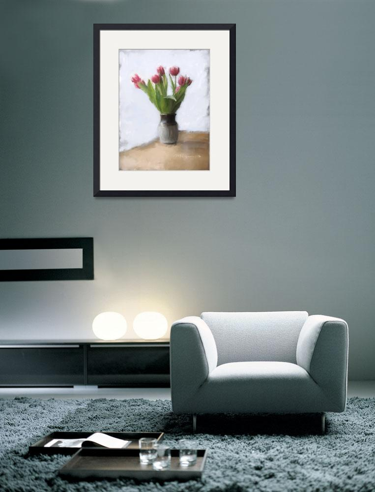 """""""spring tulips""""  by mckeague"""