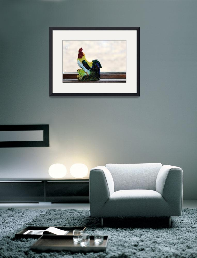 """""""Rooster&quot  (2011) by annjakubz"""