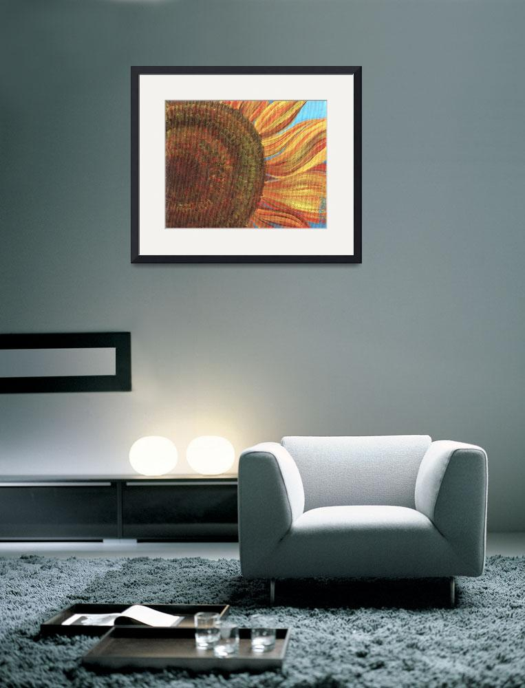 """Sunflower Series, Number 3""  (2011) by DreamGallery"