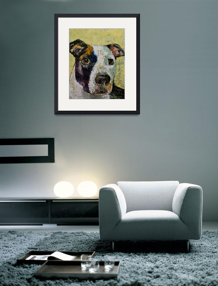 """Pit Bull Portrait&quot  by creese"