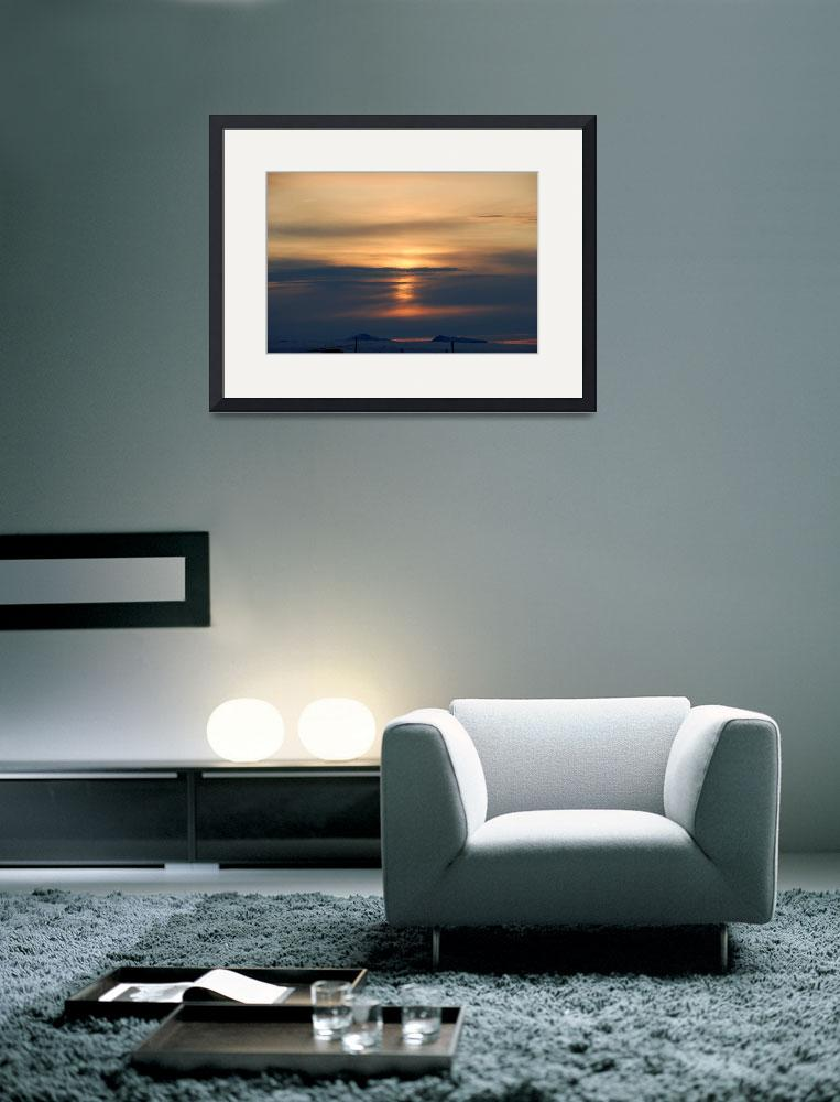 """""""Arctic Sunset&quot  (2008) by northernfoto"""
