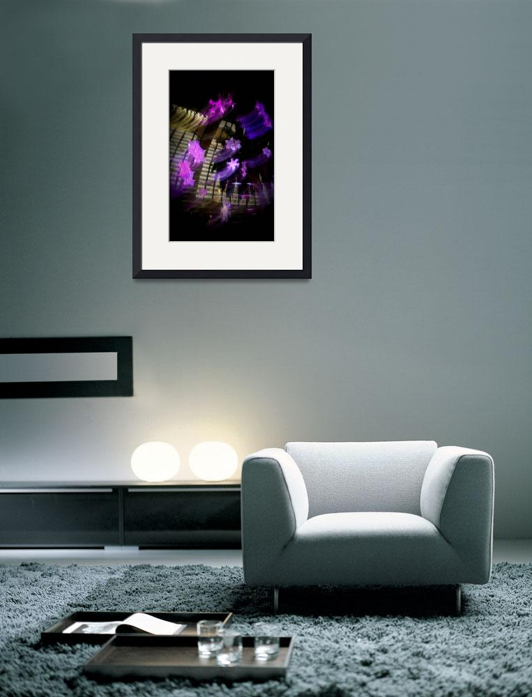 """""""The Mirage Snowflakes - Abstract No. 1 - Purple&quot  (2008) by AtomicCerebellum"""