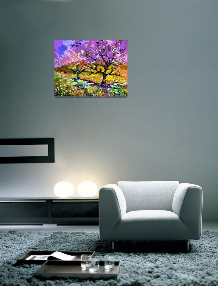 """""""Spring in Provence Original Art by Ginette""""  (2012) by GinetteCallaway"""