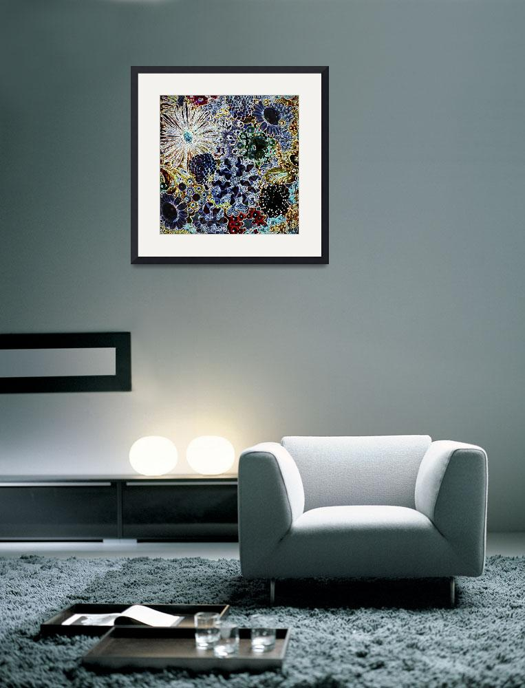 """""""Glamorous Jewels Abstract b&quot  by Groecar"""