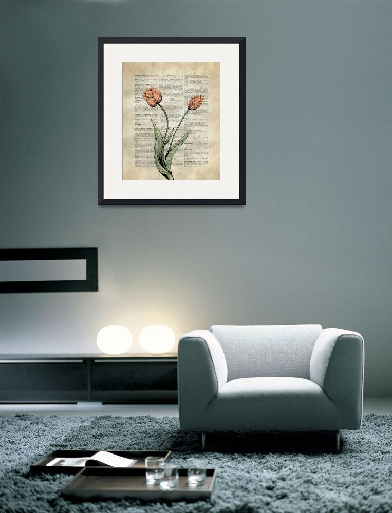 """""""Tulips&quot  by IK_Stores"""