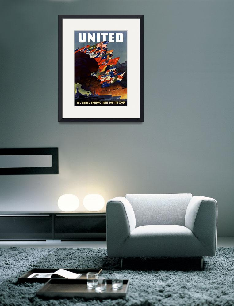 """The United Nations Fight For Freedom&quot  by warishellstore"