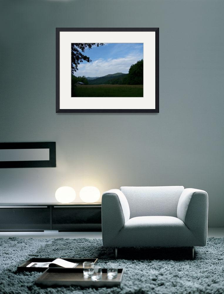 """""""Cataloochee Valley Twilight&quot  (2008) by rderder"""
